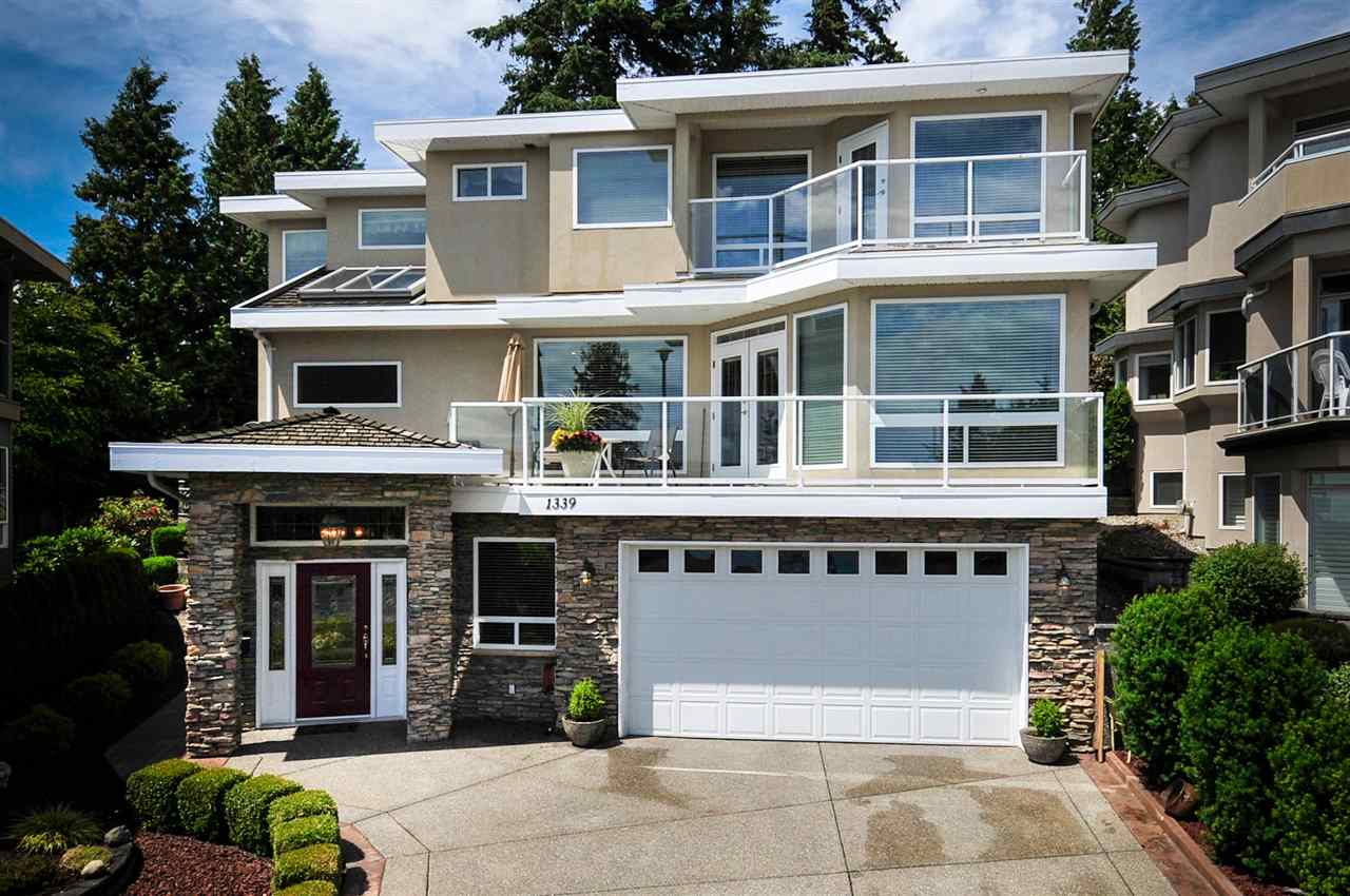 "Main Photo: 1339 132B Street in Surrey: Crescent Bch Ocean Pk. House for sale in ""Eagle Crest"" (South Surrey White Rock)  : MLS(r) # R2159366"