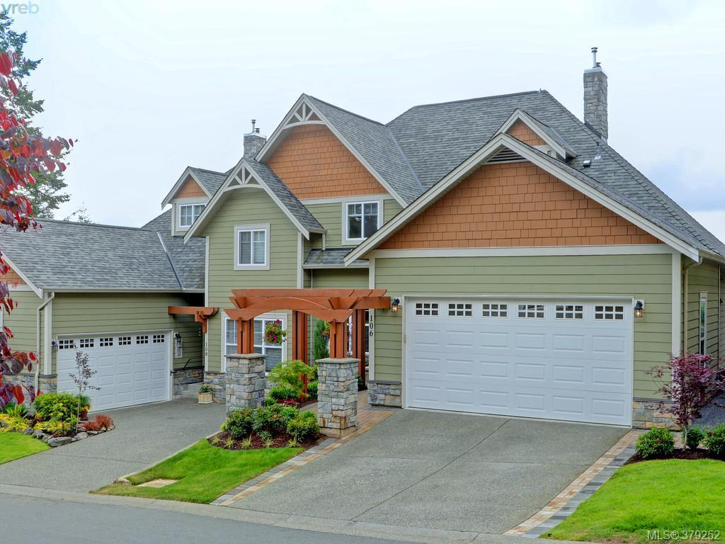 Main Photo: 106 945 Bear Mountain Parkway in VICTORIA: La Bear Mountain Townhouse for sale (Langford)  : MLS(r) # 379252