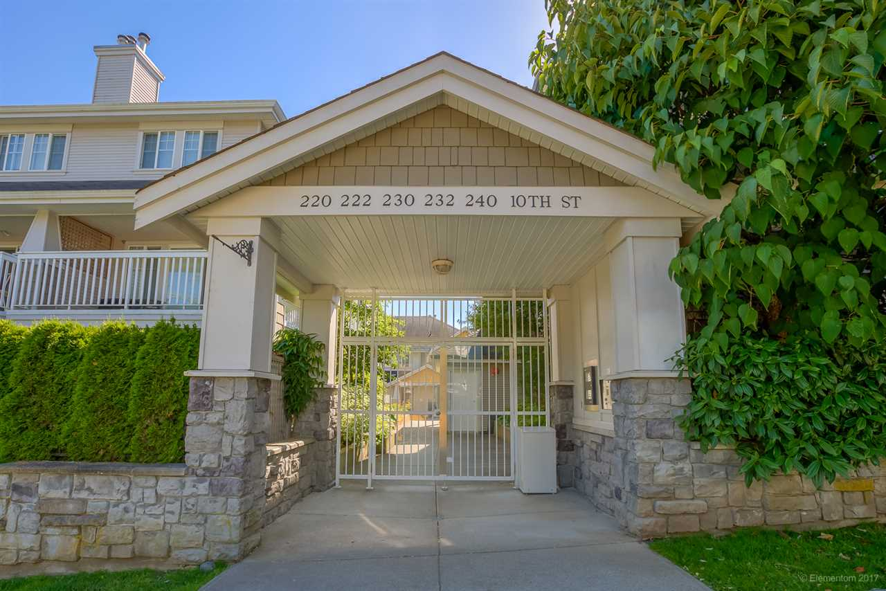 "Main Photo: 23 232 TENTH Street in New Westminster: Uptown NW Townhouse for sale in ""COBBLESTON WALK"" : MLS® # R2184261"