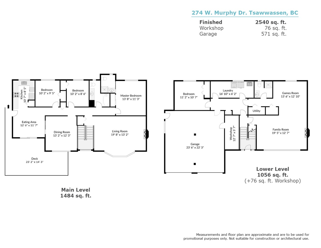 2617 sqft - large family home...bring your renovation ideas!