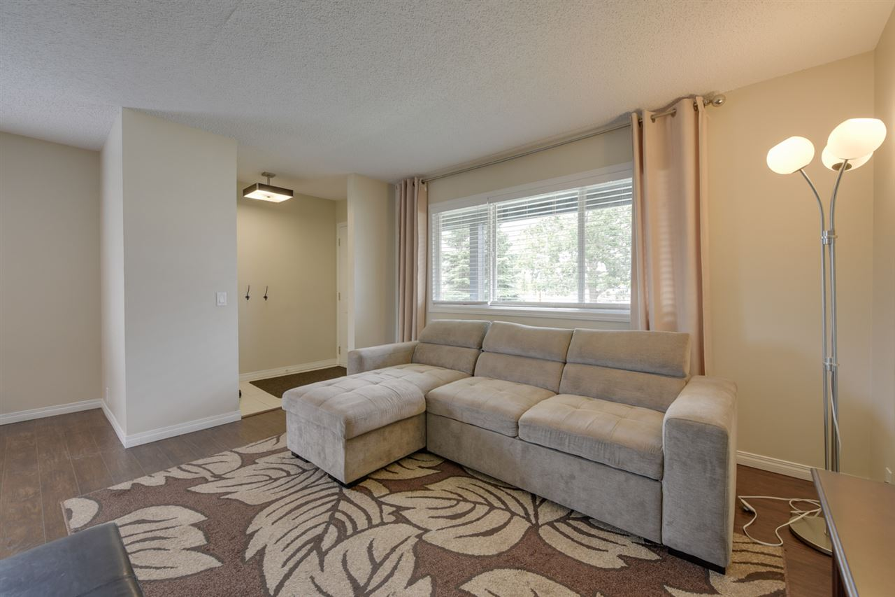 the entrance leads to a living room with BIG windows for loads of natural light.