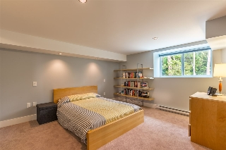 Large bedroom on the lower level for guests, older kids or for a potential suite.
