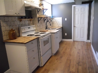 Basement suite Kitchen