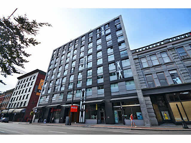 Main Photo: 708 66 W Cordova Street in Vancouver: Downtown Condo for sale (Vancouver West)  : MLS®# V1021047