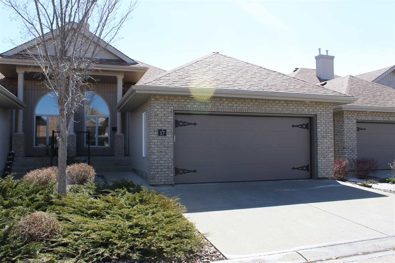 Main Photo: 17 600 Regency Drive: Sherwood Park House Half Duplex for sale : MLS®# E4096068