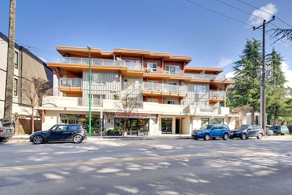"Main Photo: 302 2138 OLD DOLLARTON Road in North Vancouver: Seymour NV Condo for sale in ""Maplewood North"" : MLS®# R2260543"