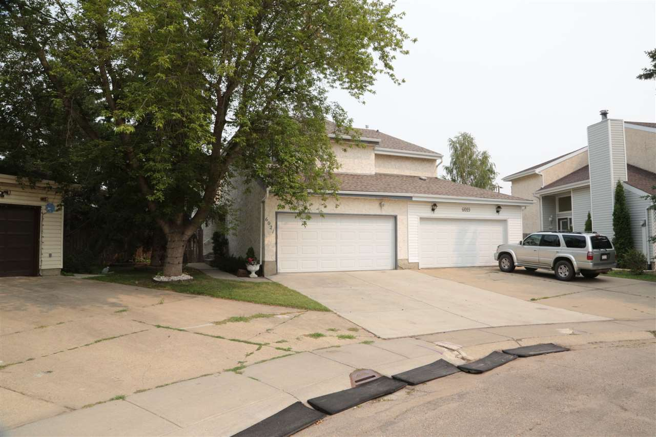 Main Photo: 6021 173 Street in Edmonton: Zone 20 House Half Duplex for sale : MLS®# E4124440