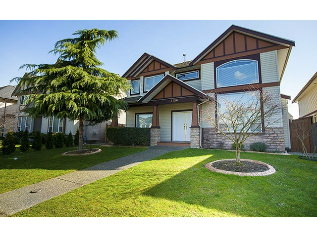 Main Photo: 1156 RIVERSIDE Drive in Port Coquitlam: Riverwood House for sale : MLS(r) # V994595