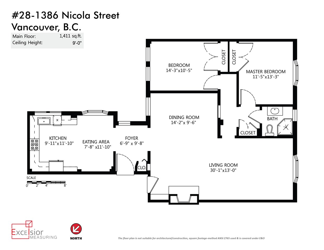 "Photo 20: 28 1386 NICOLA Street in Vancouver: West End VW Condo for sale in ""KENSINGTON PLACE"" (Vancouver West)  : MLS® # R2039878"