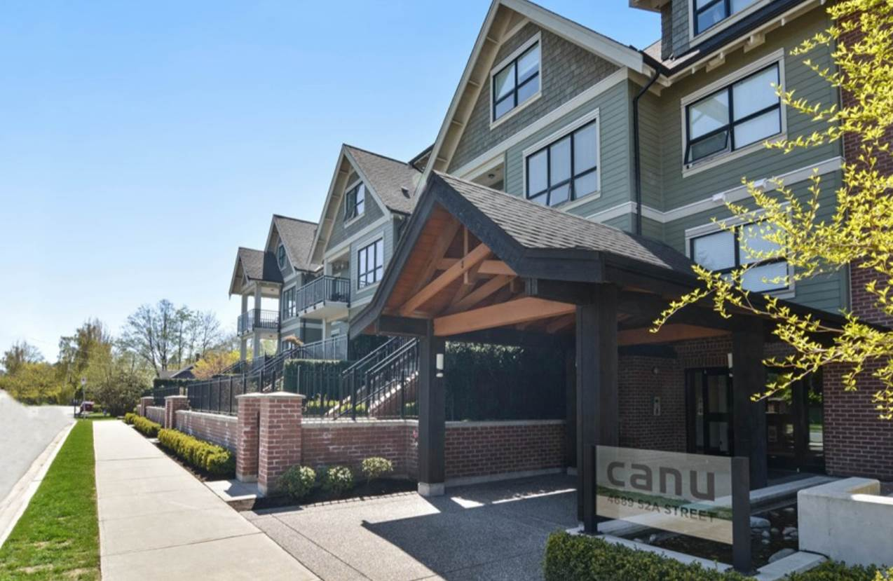 "Main Photo: 404 4689 52A Street in Ladner: Delta Manor Condo for sale in ""CANU"" : MLS® # R2164231"