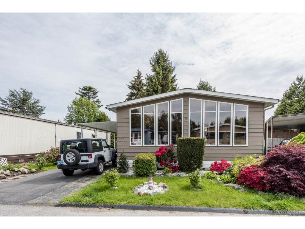 Photo 2: 335 1840 160TH STREET in Surrey: King George Corridor Manufactured Home for sale (South Surrey White Rock)  : MLS(r) # R2167828