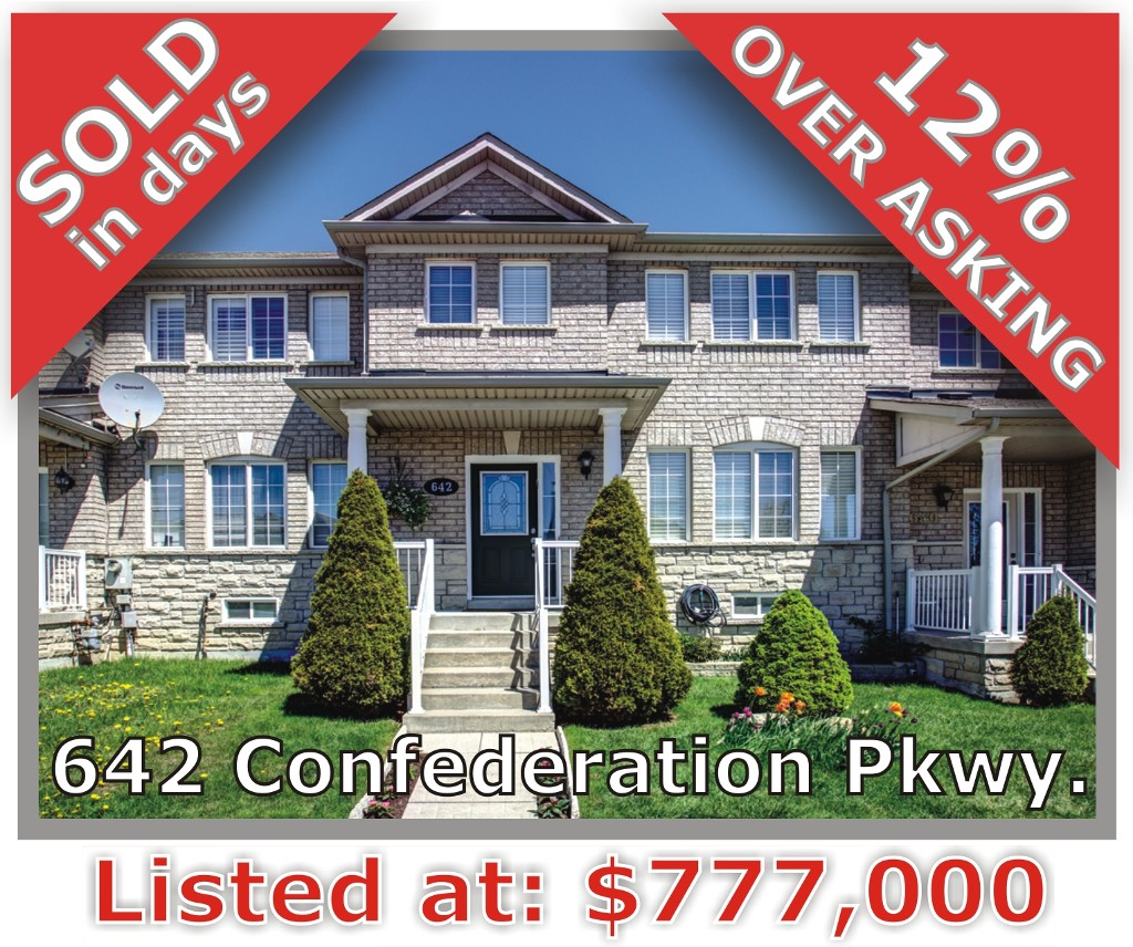 Main Photo: 642 Confederation Parkway in Vaughan: Patterson Freehold for sale