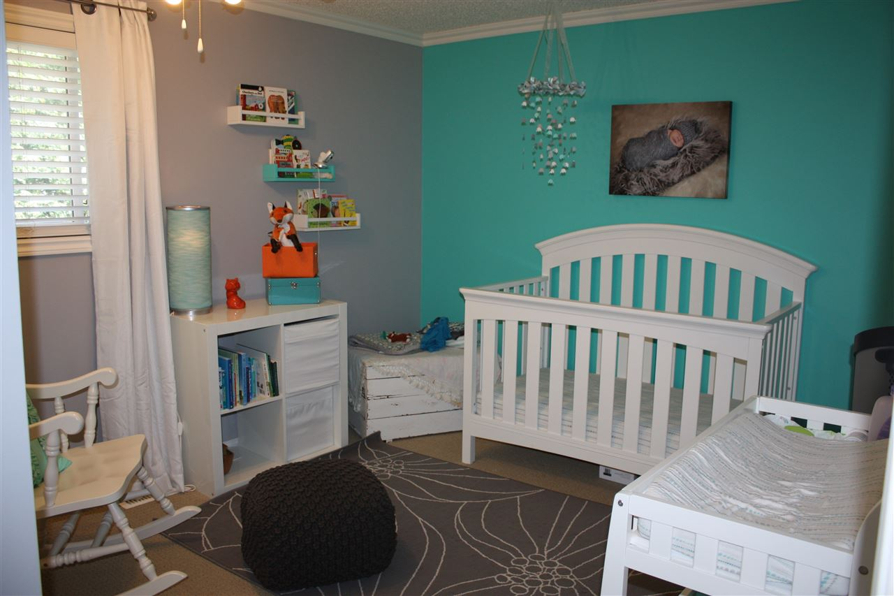 Large kids bedrooms and very roomy closets