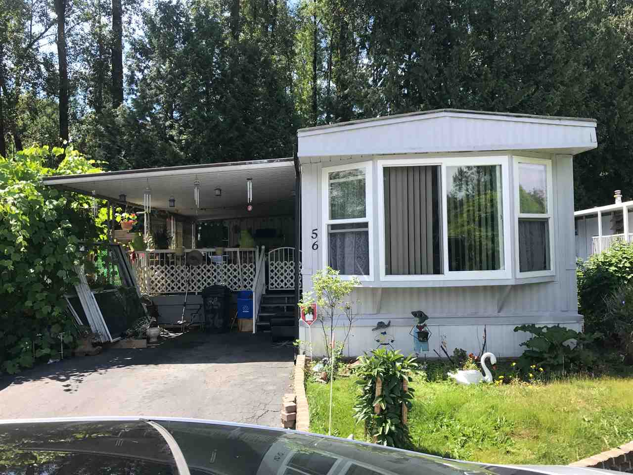 "Main Photo: 56 8220 KING GEORGE Boulevard in Surrey: East Newton Manufactured Home for sale in ""Crestway Bays"" : MLS(r) # R2187802"