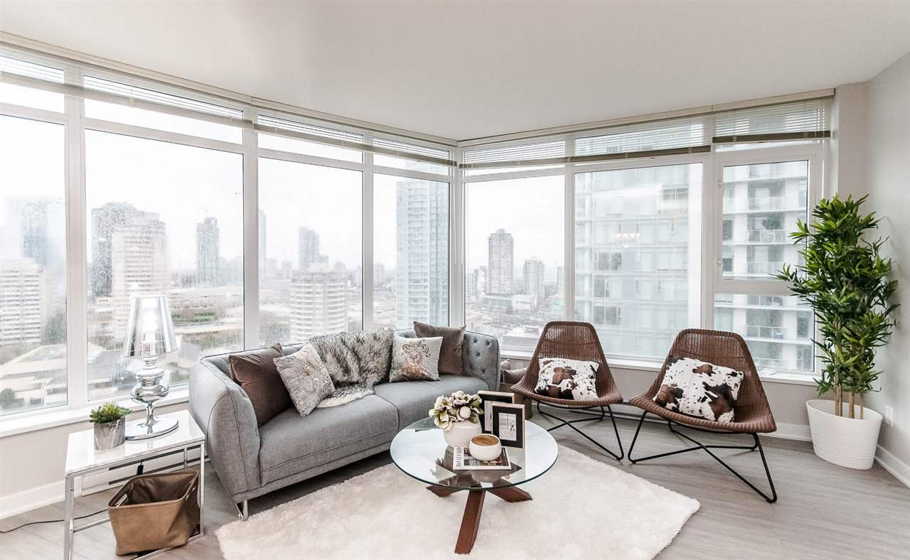 Main Photo: 2204 4900 LENNOX Lane in Burnaby: Metrotown Condo for sale (Burnaby South)  : MLS® # R2224785