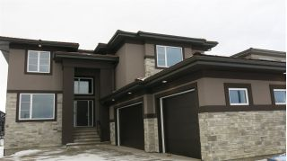 Main Photo: 4735 WOOLSEY Common NW in Edmonton: Zone 56 House for sale : MLS® # E4092015