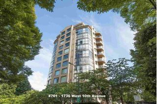 "Main Photo: 701 1736 W 10TH Avenue in Vancouver: Fairview VW Condo for sale in ""MONTE CARLO"" (Vancouver West)  : MLS®# R2268278"