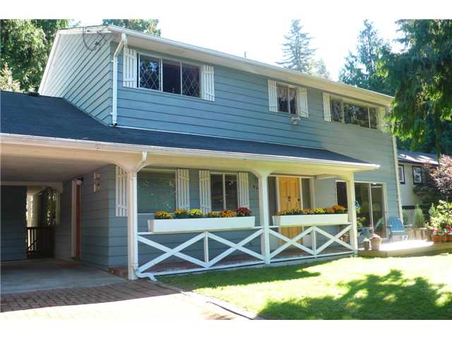 Main Photo: 4398 VALENCIA Avenue in North Vancouver: Upper Delbrook House for sale : MLS® # V1029664