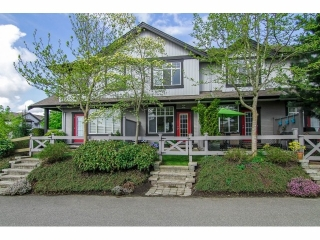 "Main Photo: 2 18839 69TH Avenue in Surrey: Clayton Townhouse for sale in ""Starpoint II"" (Cloverdale)  : MLS(r) # F1410703"