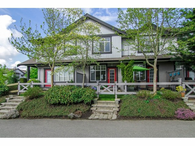 "Main Photo: 2 18839 69TH Avenue in Surrey: Clayton Townhouse for sale in ""Starpoint II"" (Cloverdale)  : MLS® # F1410703"