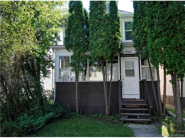 Main Photo: 382 Cathedral Avenue in WINNIPEG: North End Residential for sale (North West Winnipeg)  : MLS® # 1523080