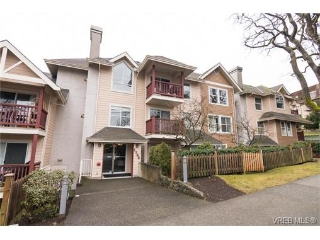 Main Photo: 203 1593 Begbie Street in VICTORIA: Vi Fernwood Condo Apartment for sale (Victoria)  : MLS® # 373942