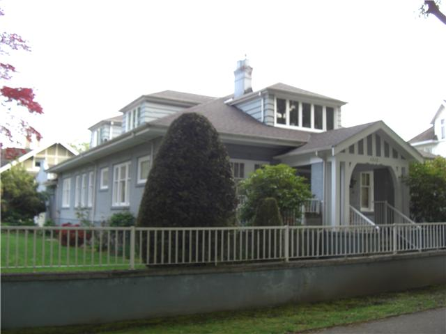 Main Photo: 1212 BALFOUR Avenue in Vancouver: Shaughnessy House for sale (Vancouver West)  : MLS® # V891708