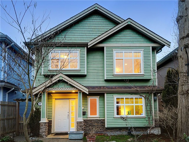 Main Photo: 387 E 17TH Avenue in Vancouver: Main House for sale (Vancouver East)  : MLS®# V1047208