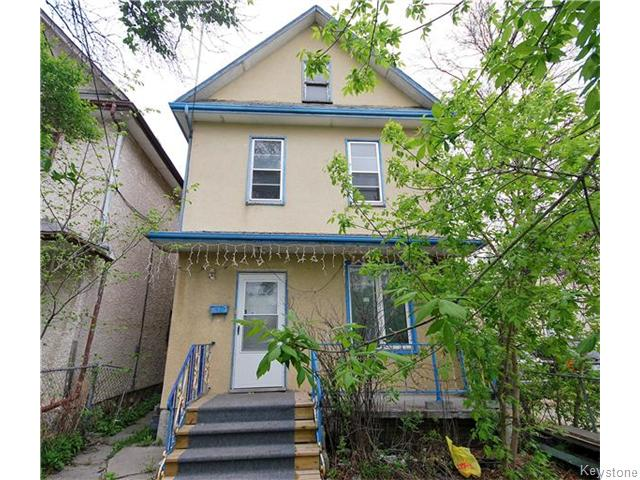 Main Photo: 477 Bannatyne Avenue in Winnipeg: Central Winnipeg Residential for sale : MLS®# 1612289