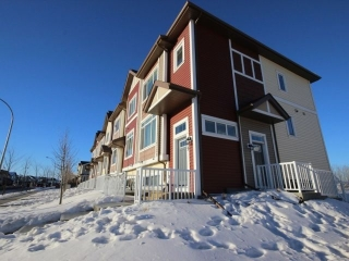 Main Photo: 69 320 Secord Boulevard in Edmonton: Zone 58 Townhouse for sale : MLS(r) # E4049989