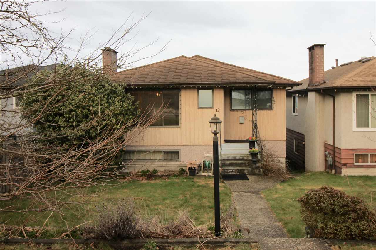 Main Photo: 12 SEA Avenue in Burnaby: Capitol Hill BN House for sale (Burnaby North)  : MLS®# R2148799
