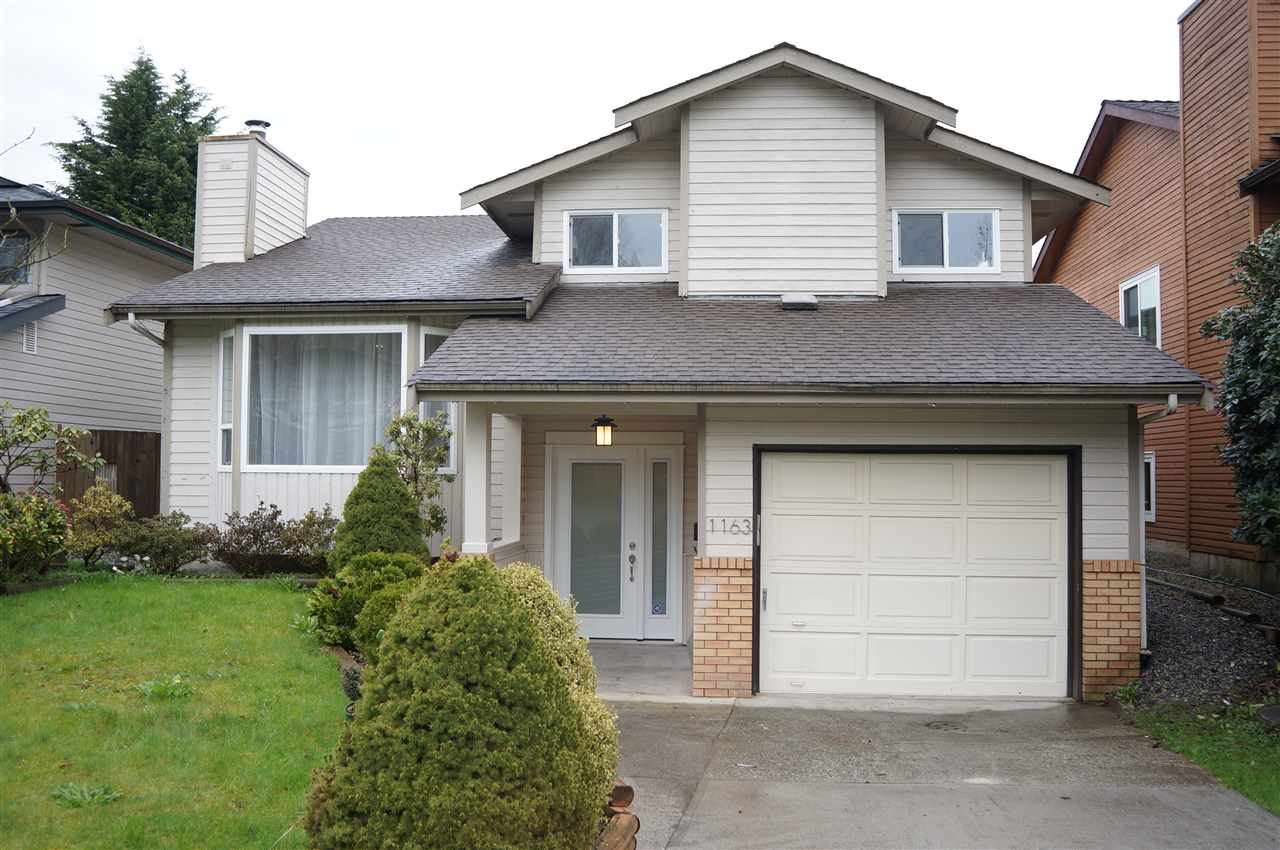 Main Photo: 1163 FALCON Drive in Coquitlam: Eagle Ridge CQ House for sale : MLS®# R2155906