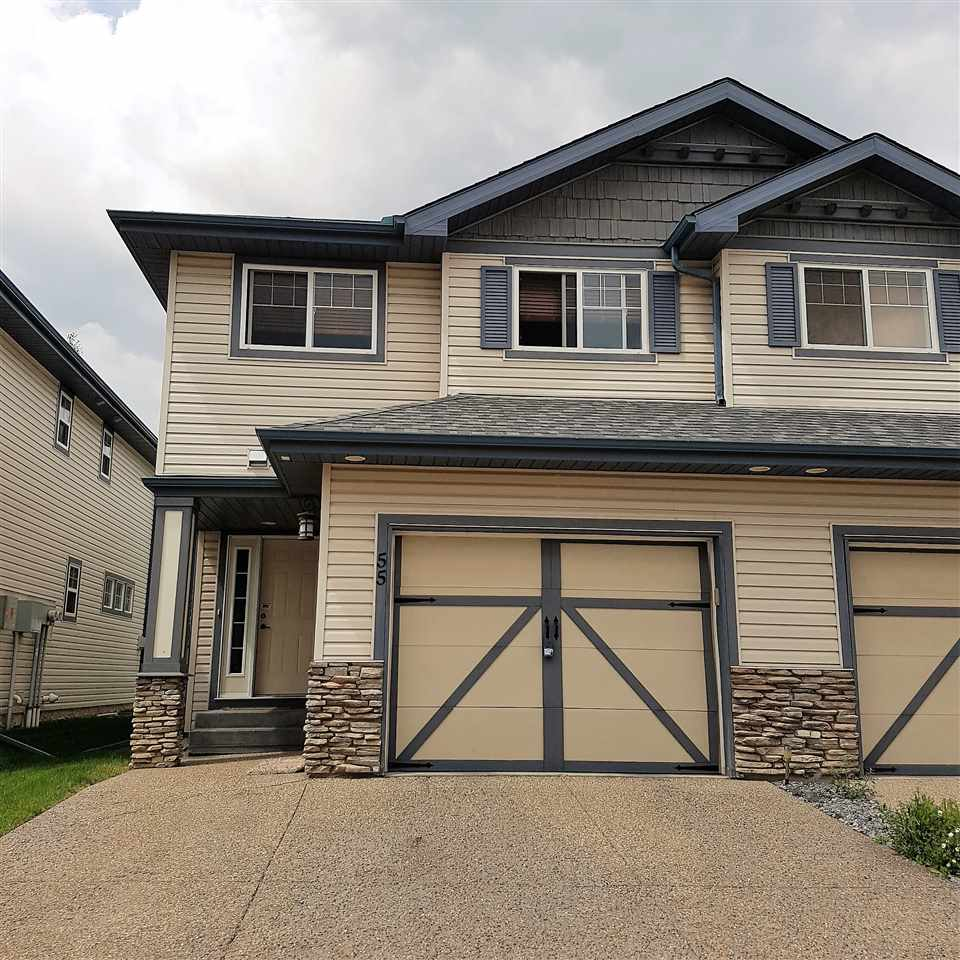 Main Photo: 55 2565 HANNA Crescent in Edmonton: Zone 14 House Half Duplex for sale : MLS® # E4069623