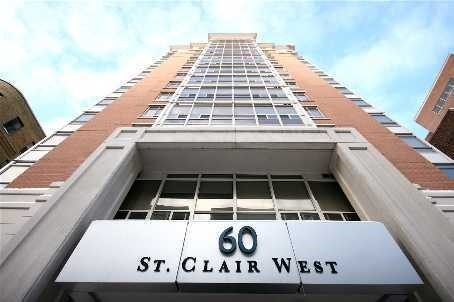 Main Photo: 403 60 W St Clair Avenue in Toronto: Yonge-St. Clair Condo for lease (Toronto C02)  : MLS(r) # C3881957