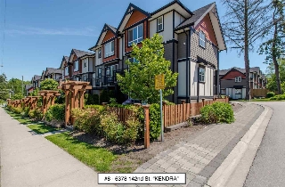 "Main Photo: 8 6378 142 Street in Surrey: Sullivan Station Townhouse for sale in ""Kendra"" : MLS® # R2193744"