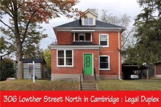 Main Photo: 306 N Lowther Street in Cambridge: House (2 1/2 Storey) for sale : MLS® # X3954192