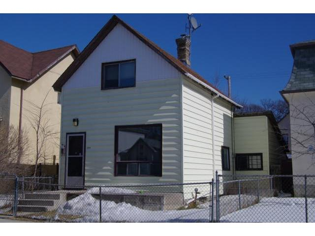 Main Photo: 599 Young Street in WINNIPEG: West End / Wolseley Residential for sale (West Winnipeg)  : MLS® # 1106131