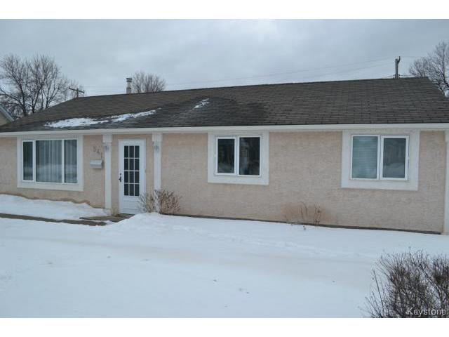 Main Photo: 541 Whytewold Road in WINNIPEG: St James Residential for sale (West Winnipeg)  : MLS®# 1501592