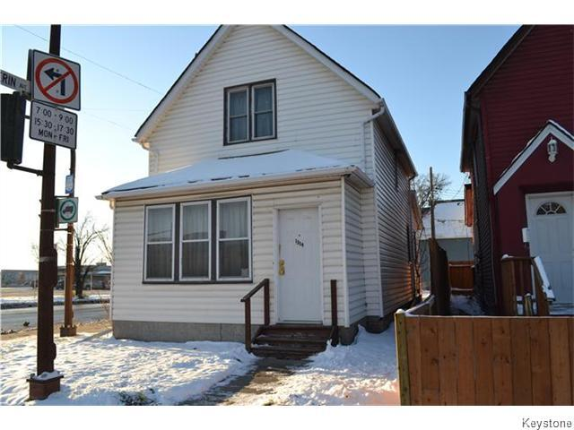 Main Photo: 1314 Arlington Street in Winnipeg: North End Residential for sale (North West Winnipeg)  : MLS®# 1604145