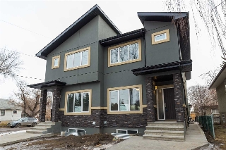 Main Photo: 10247 84 Street in Edmonton: Zone 19 House Half Duplex for sale : MLS® # E4074728