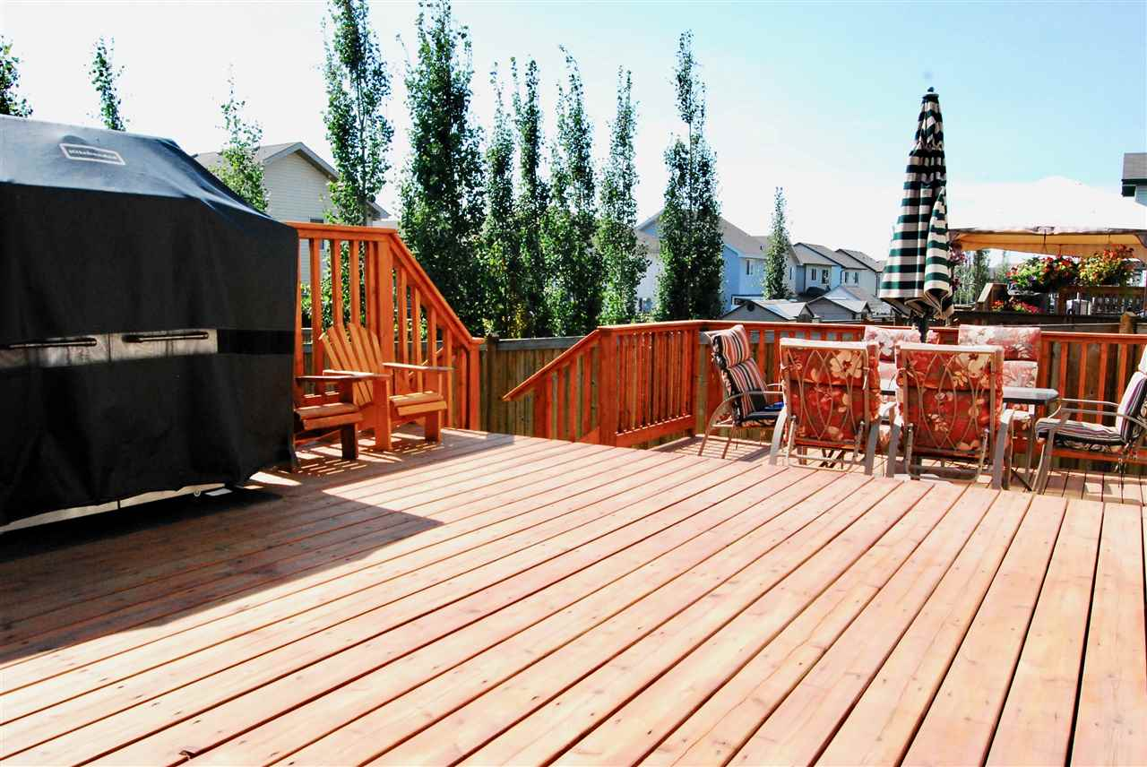 Entertain, soak in the sun (it's south facing), or play with the kids on your massive deck