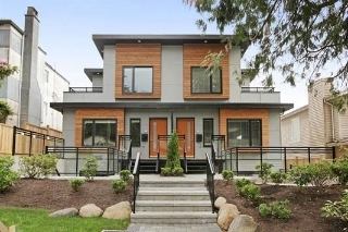 Main Photo: 233 W 19TH Street in North Vancouver: Central Lonsdale House 1/2 Duplex for sale : MLS® # R2202782