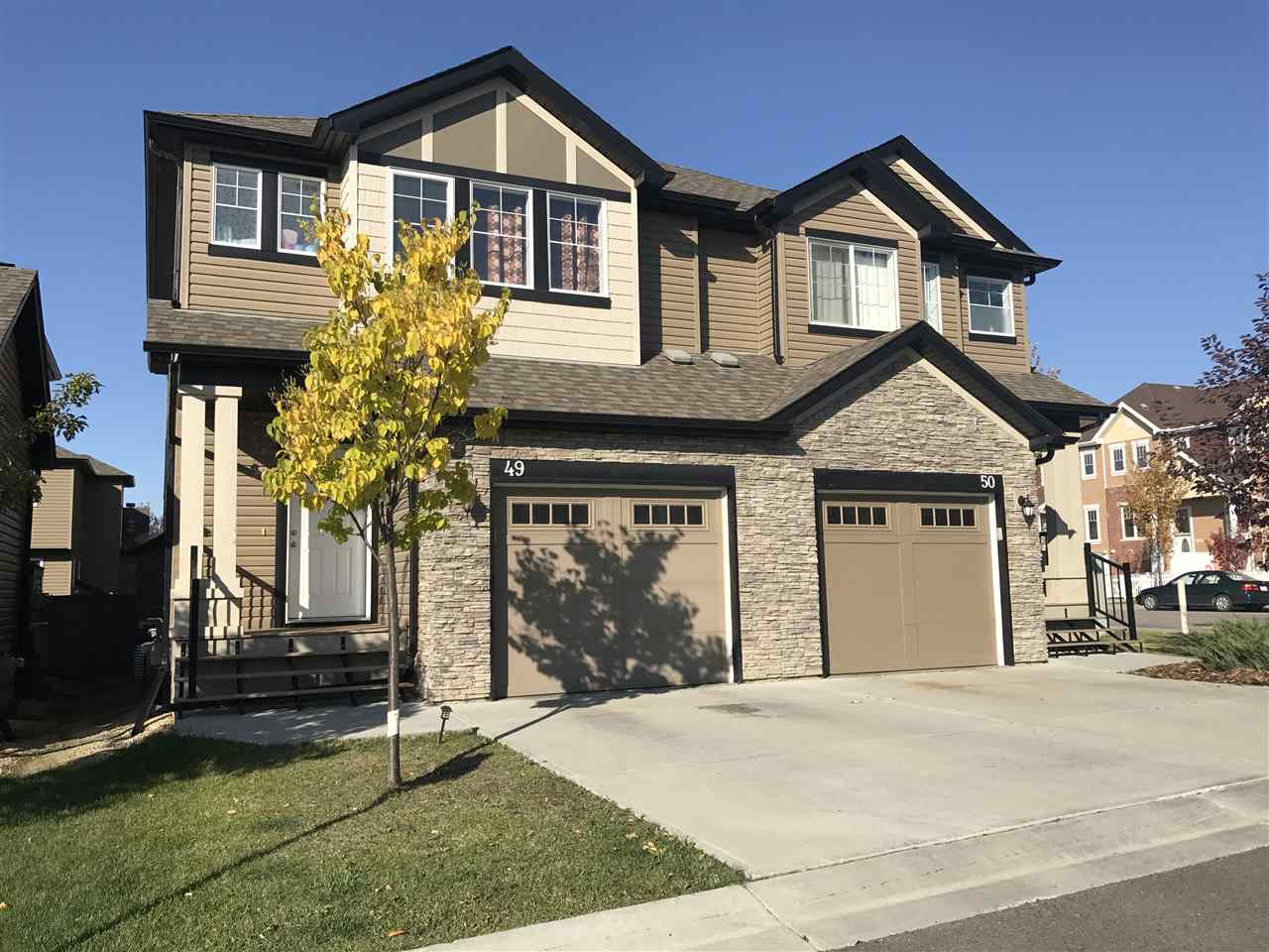 Main Photo: 49 6835 SPEAKER Vista in Edmonton: Zone 14 House Half Duplex for sale : MLS® # E4083864
