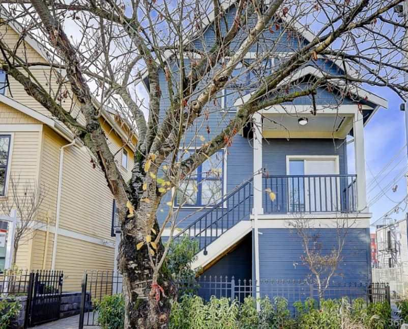 "Main Photo: 431 VERNON Drive in Vancouver: Mount Pleasant VE Townhouse for sale in ""STRATHCONA"" (Vancouver East)  : MLS® # R2224988"