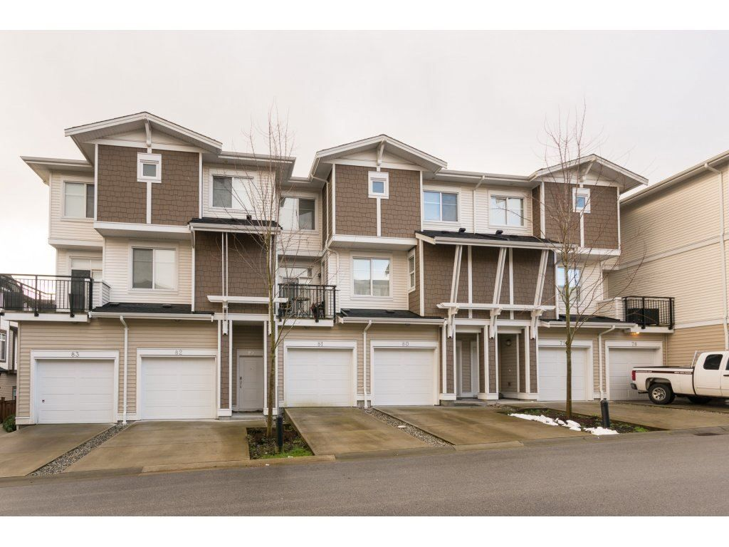 "Main Photo: 81 19433 68TH Avenue in Surrey: Clayton Townhouse for sale in ""THE GROVE"" (Cloverdale)  : MLS®# R2240307"