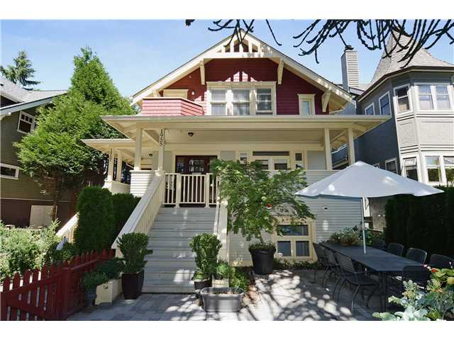 Main Photo: 1955 W 15TH Avenue in Vancouver: Kitsilano Townhouse for sale (Vancouver West)  : MLS® # V1045326