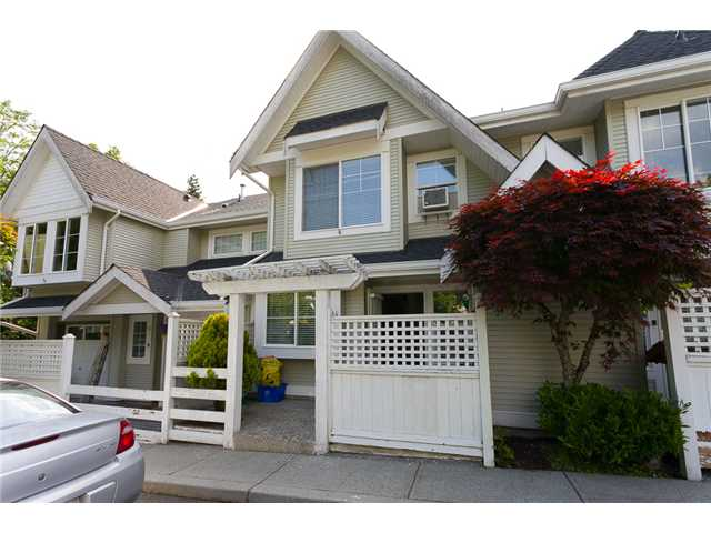 "Main Photo: 14 23560 119TH Avenue in Maple Ridge: Cottonwood MR Townhouse for sale in ""HOLLYHOCK"" : MLS®# V1065890"