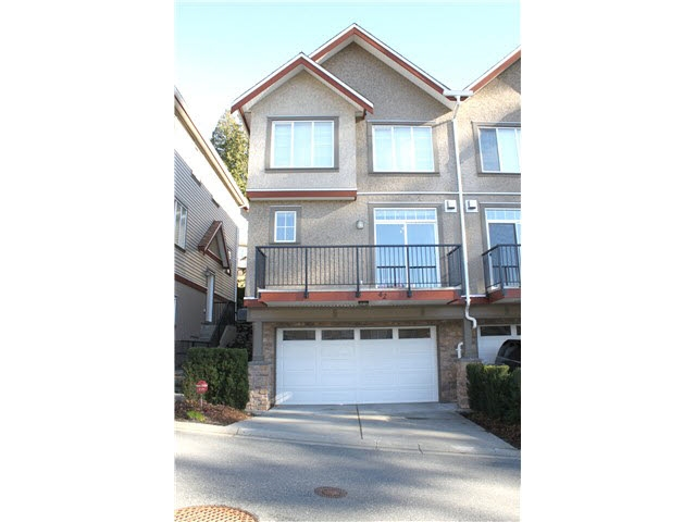 "Main Photo: 42 35626 MCKEE Road in Abbotsford: Abbotsford East Townhouse for sale in ""LEDGEVIEW VILLAS"" : MLS®# R2057970"
