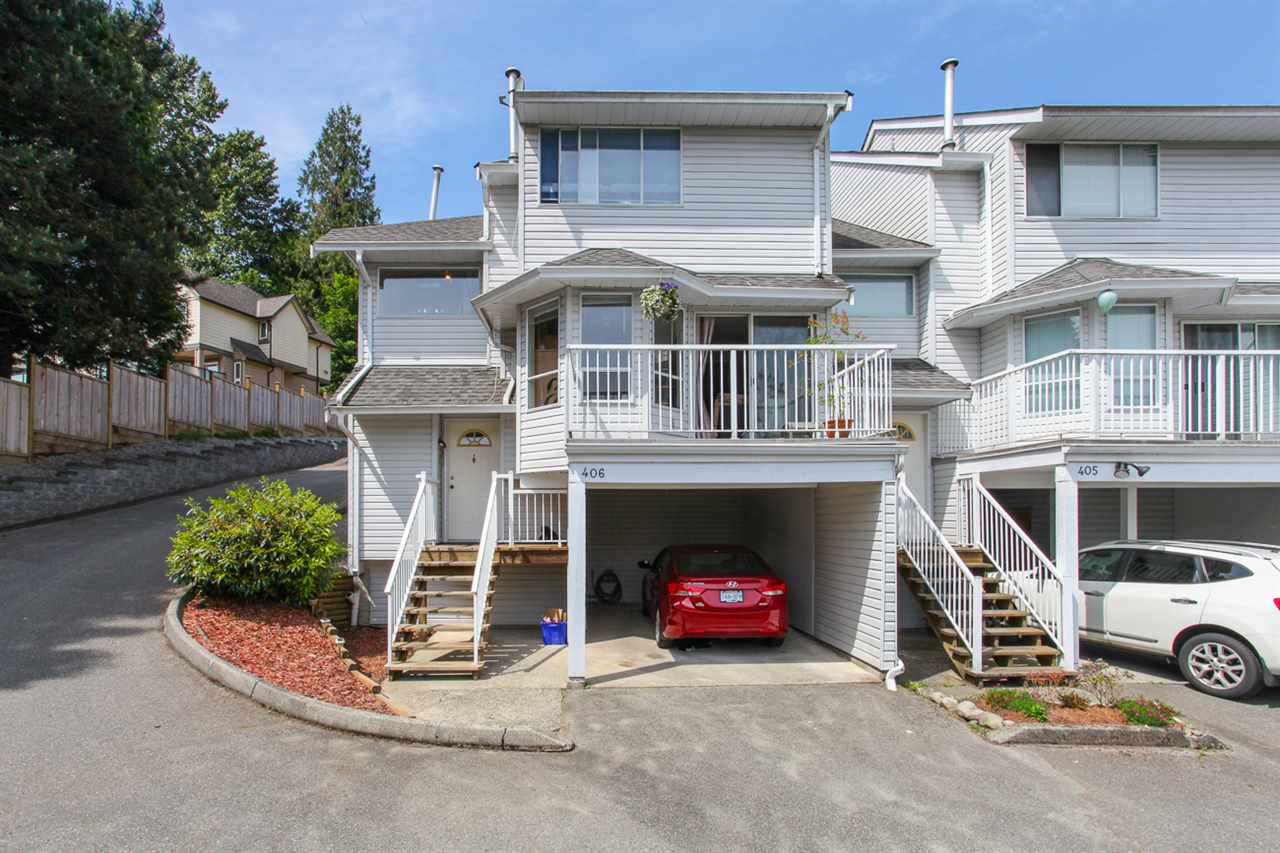 Main Photo: 406 1176 FALCON Drive in Coquitlam: Eagle Ridge CQ Townhouse for sale : MLS® # R2069583