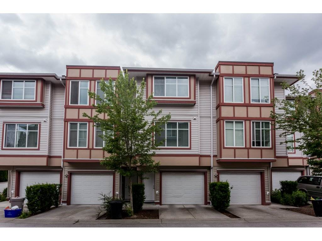 "Main Photo: 48 13899 LAUREL Drive in Surrey: Whalley Townhouse for sale in ""EMERALD GARDENS"" (North Surrey)  : MLS® # R2076948"